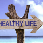 Healthy-Life-wooden-sign